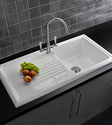 Review of Reginox RL304CW 1.0 Bowl White Ceramic Reversible Kitchen Sink
