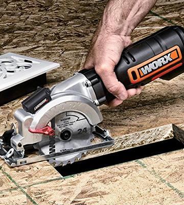 Review of WORX WX427 XL Mini Compact Circular Saw