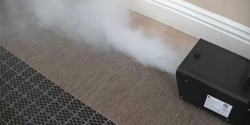 Review of 1byone Fog Machine with Wired Remote Control