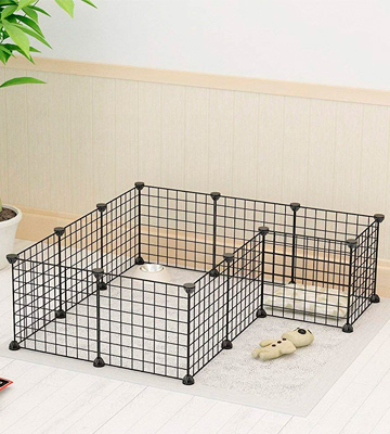 Review of Koossy DEEF-001 Expandable Rabbit Cage