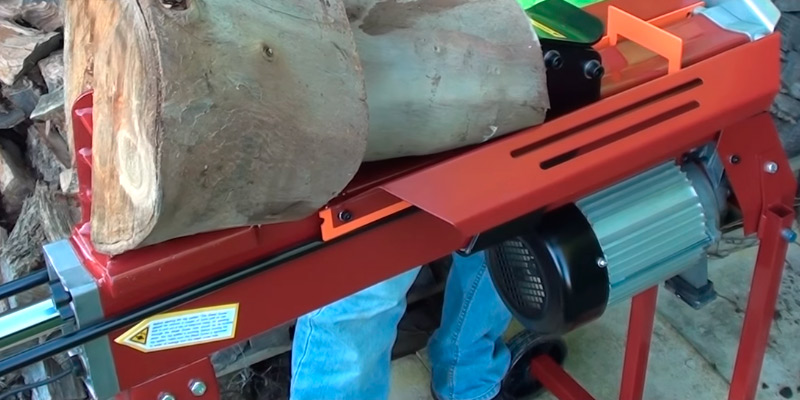 Titan-Pro TPLS7T Electric Log Splitter application