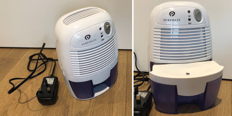 Review of PureMate 500ml Compact and Portable Mini Air Dehumidifier