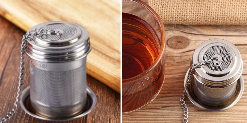 Review of House Again Extended Chain Hook Tea Ball Infuser