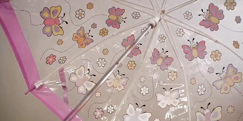 Review of Bugzz BUFG Clear PVC Umbrella