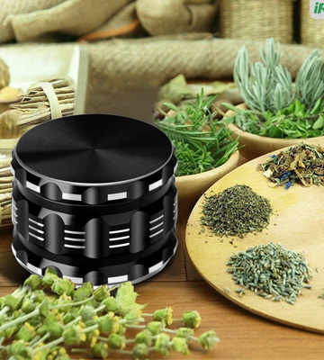Review of iRainy (5823808129) 2.5 Inch Herb Grinder