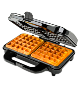Global Gourmet GG020 Non-Stick Square Waffle Maker