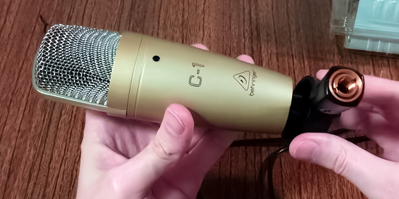 Review of Behringer C-1 Studio Condenser Microphone