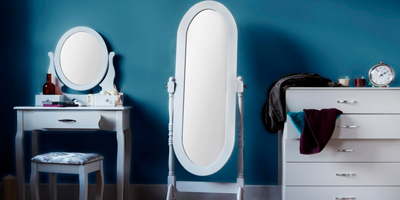Review of Home Discount Nishano Cheval Mirror Free Standing Full Length Floor Standing Dressing Mirror