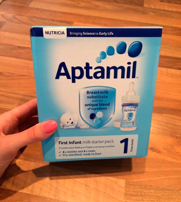 Review of Aptamil First Infant Milk Starter