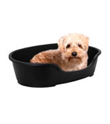 Sharples & Grant Ltd Warm Grey Plastic Dog Bed