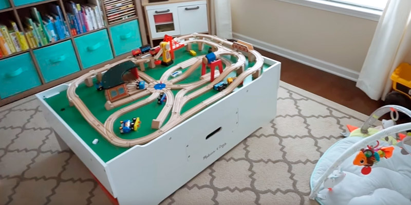 Review of Melissa & Doug Deluxe Wooden Multi-Activity Play Table