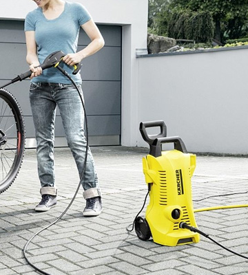 Review of Kärcher Pressure Washer 2 X K2 Full Control Home