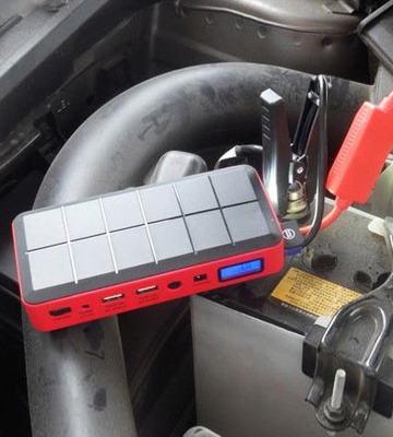 Review of Car Rover Portable Car Jump Starter Battery Charger Power Bank