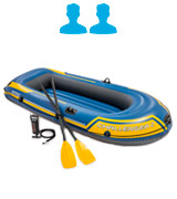 Intex Challenger 2 (68367EP) Boat Set