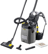 Kärcher 1199274 Professional Backpack Vacuum Cleaner