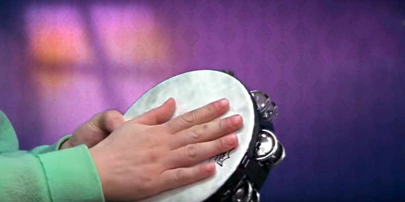 Review of Remo TA-5110-70 Tambourine Single Row, 10""
