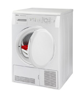 Beko DCU8230W Freestanding Condenser Tumble Dryer
