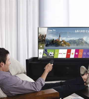 Review of LG 55UJ630V Ultra HD Smart LED TV
