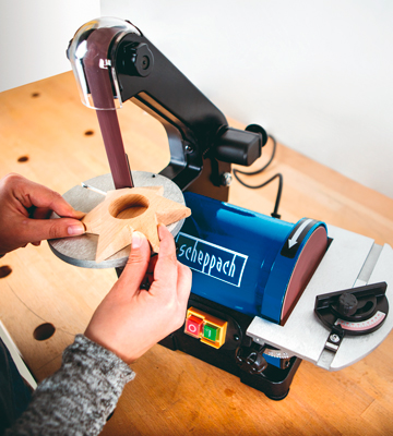 Review of Scheppach 490 3304 901 Belt and Disc Sander