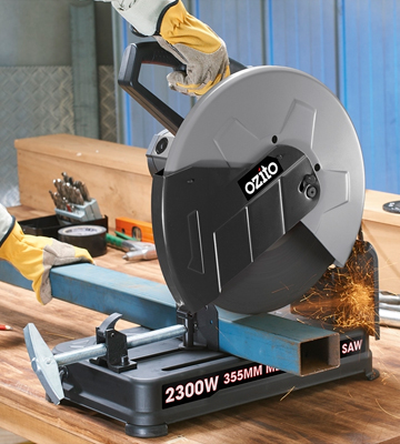 Review of Ozito 2300W Metal Cut Off Chop Saw