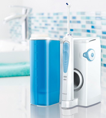 Review of Oral-B WaterJet Oral Irrigator Cleaning System