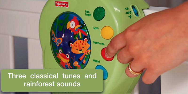 Fisher-Price K3799 Musical Mobile in the use