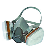 3M 6002 C1+R Reusable Spray Painting Respirator Mask with Replaceable Filters