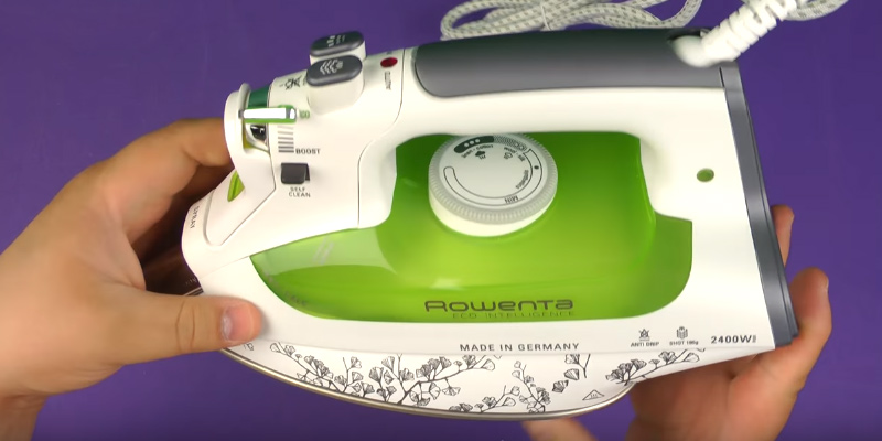 Review of Rowenta DW6020 ECO Intelligence Steam Iron