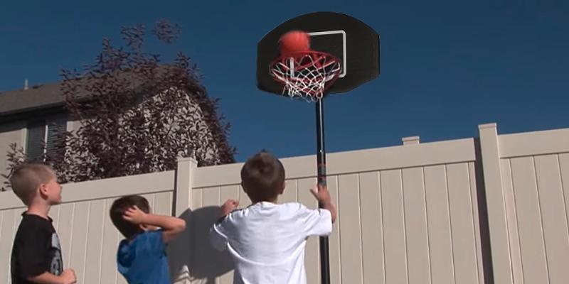 Review of JumpStar Sports Junior League Basketball hoop and stand