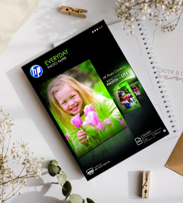 Review of HP 100 sht/A4 Glossy Photo Paper