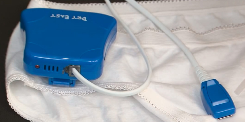 Review of DryEasy Bedwetting Alarm With Volume Control, 6 Selectable Sounds and Vibration