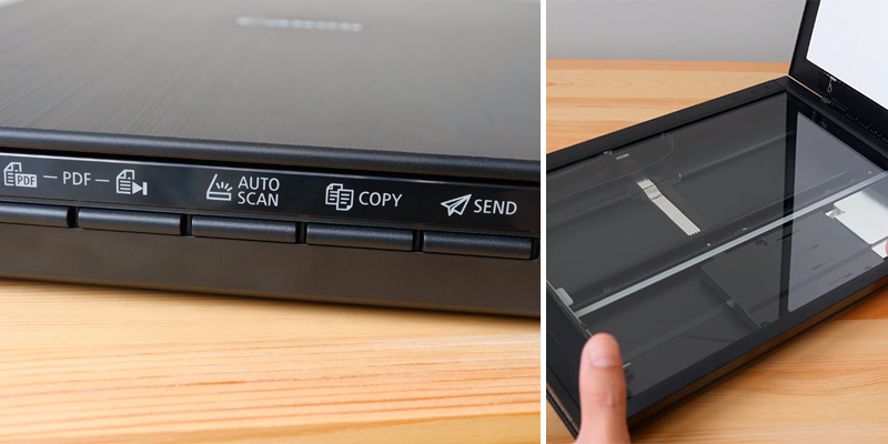 Canon CanoScan LiDE 400 Colour Flatbed Scanner in the use