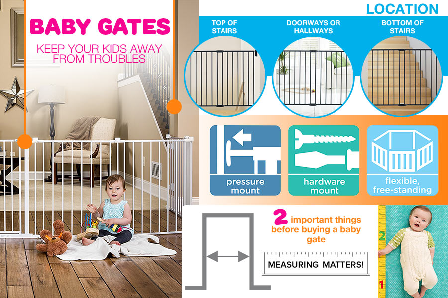 5 Best Baby Gates Reviews Of 2018 In The Uk Bestadvisers Co Uk