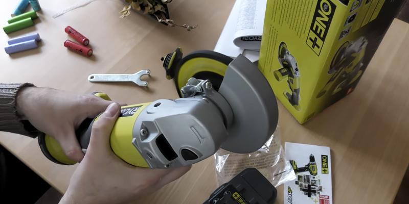 Review of Ryobi R18AG-0 ONE+