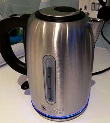 Review of Russell Hobbs 20460 Quiet Boil Kettle, 1.7 L, 3000 W