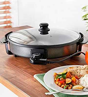 Review of Quest 35500 Multifunctional 40cm Electric Cooker