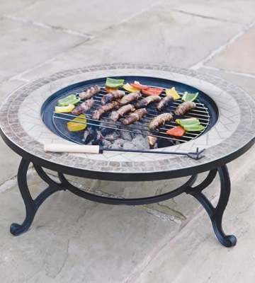 Review of Trueshopping 653003TCB Fire Pit and Coffee Table