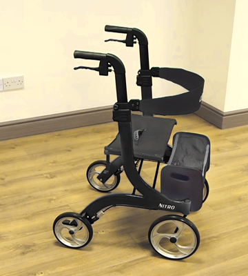 Review of Drive DeVilbiss Healthcare Black Nitro Premium Rollator