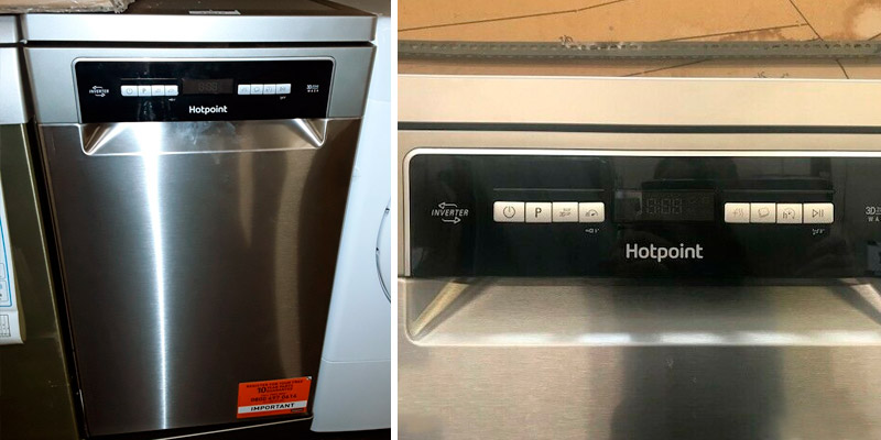 Review of Hotpoint HSFO3T223WX 10 Place Slimline Freestanding Dishwasher