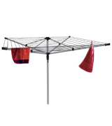 The Home Laundry Company LYQ220-40S Premium quality 40 metre Rotary Washing line with FREE Ground Spike and Cover