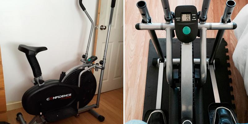 Review of Confidence 2 in 1 Elliptical Cross Trainer & Bike