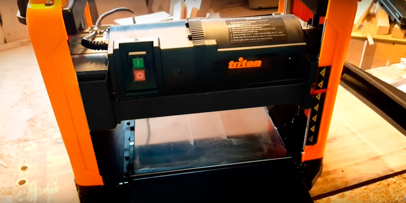 Review of Triton TPT125 Thicknesser Planer