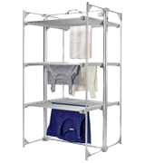 DRY SOON Heated Airer Deluxe 3-Tier