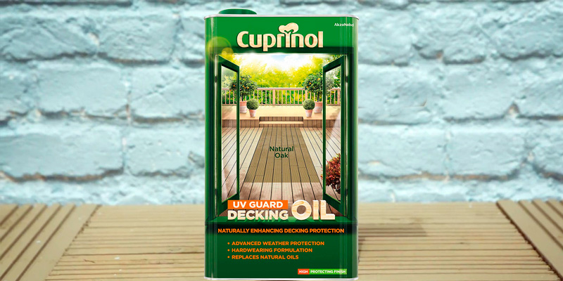 Review of Cuprinol 5122415 UV Guard Decking Oil