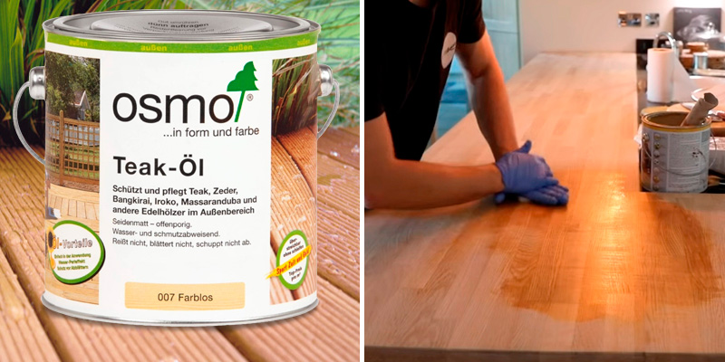 Review of Osmo Teak Oil (007) colourless