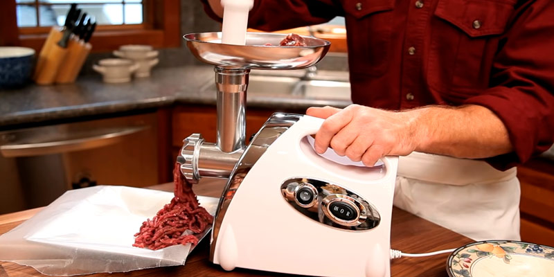 Review of Nestling 2800W Electric Meat Mincer Grinder and Sausage Maker