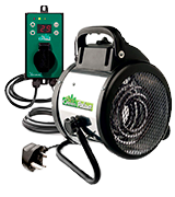 Bio Green Palma (PAL 2.0/GB) Greenhouse Heater with Digital Thermostat