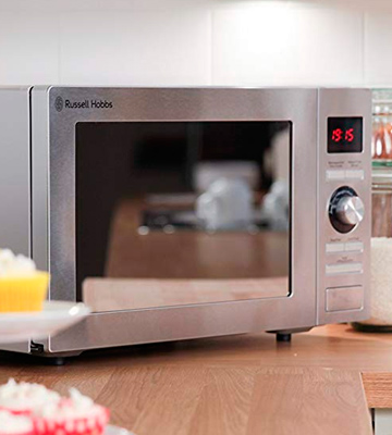 Review of Russell Hobbs RHM2572CG Digital Combination Microwave, 25 L, 900w,