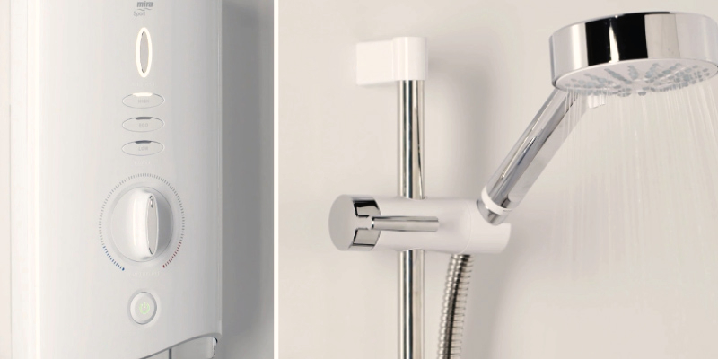 Mira Showers Sport Max Electric Shower in the use