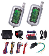 ReaseJoy E-ALM-32-001-0001 2-Way LCD Car Alarm Security System Kit